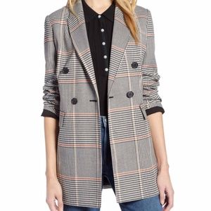 Halogen x Atlantic-Pacific Menswear Plaid Blazer